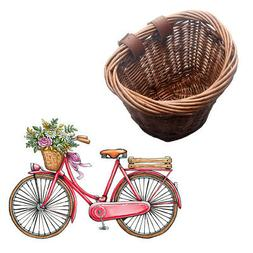 Bicycle Basket Hollow Children Bike Tricycle Scooter Storage