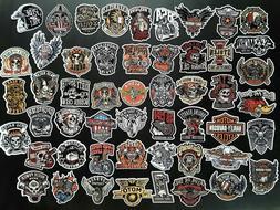 Vintage & Rare Harley Davidson Motorcycle & Other Vinyl Deca