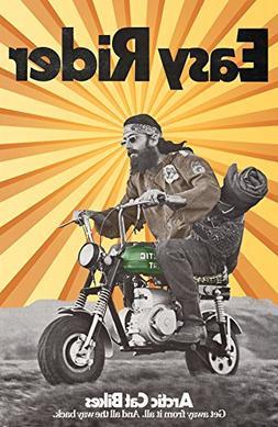 Vintage Arctic Cat Minibike Poster Print