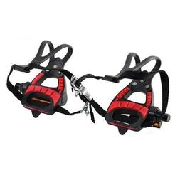VP VP-399TM Road Bike Pedals With Integrated Toe Clips Cages