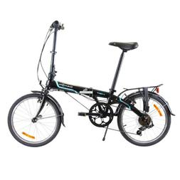 Dahon Vybe D7 Tour Obsidian with Fenders Folding Bicycle