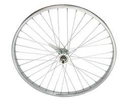 "26"" x 2.125"" W/Liner Coaster Wheel 12G Chrome. Bicycle wheel"