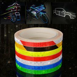 warning tape Wheel Rim Decal  Bike Reflective Stickers Cycli