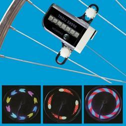 30 Pattern Bike Accessories Cycling Wheel Spoke Light  14 LE
