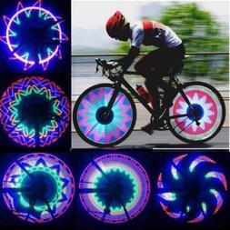 Waterproof 32 LED Lamp Bicycle Bike Accessories LED Spoke Wh
