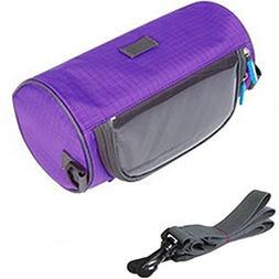 TINTON LIFE Waterproof Bicycle Handlebar Bag with Transparen