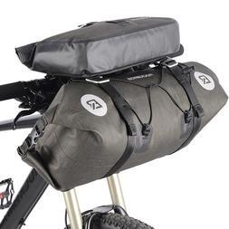 RockBros Waterproof Bicycle Roll Bag&Handlebar Bag Large Cap