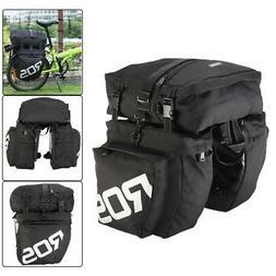 Waterproof Bike Bicycle Cycling Rear Seat Detachable Trunk P