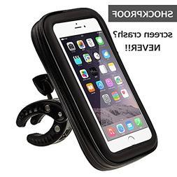 N.ORANIE Waterproof Universal Bike Phone Mount Bag Touch Scr