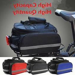 Waterproof Outdoor Bike Bicycle Cycling Pannier Strap-On Bag