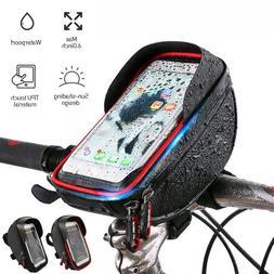 Waterproof Touch Screen Bike Bicycle Handlebar Bag Holder Po
