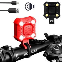 Waterproof USB Rechargeable LED Bicycle Headlight Bike Head