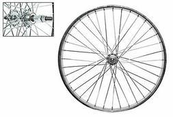 Wheel Master Rear Bicycle Wheel 24 x 1.75 36H, Steel, Bolt O