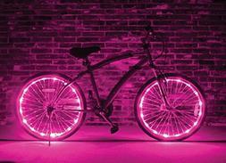 Wheel Brightz - Pink - Bike Light Accessory by Bike Brightz
