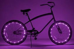 Brightz WheelBrightz LED Bicycle Wheel Accessory Light , Pur