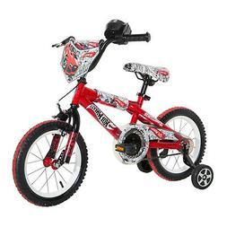 """Dynacraft Hot Wheels Boys BMX Street/Dirt Bike with Hand Br"