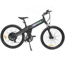 """26"""" black electric Bicycle eBike 36V lithium battery 500W  7"""