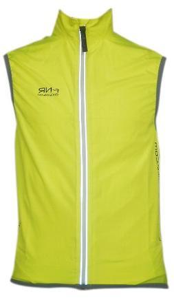 Funkier BikeReflective Windbreaker Vest, X-Large, Yellow