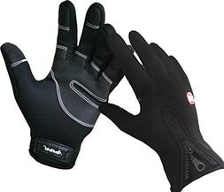 Andyshi Men's Winter Outdoor Cycling Glove Touchscreen Glove