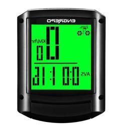 Wireless Bike Computer Waterproof LCD Cycling Speedometer Od
