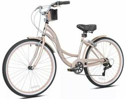 Kent Womens 26 inch Bayside Cruiser Bike Rose Gold