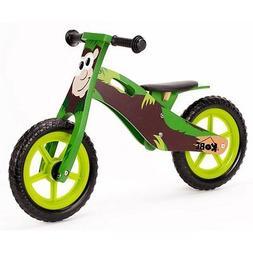 "Kobe Wooden Balance Bike ""Panda"" ""Black and White"" Wood Bicy"