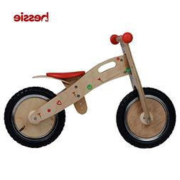 Hessie Wooden Balance Bike, Self Balancing Bicycle for Littl