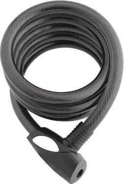 Bosvision 1/2 inch x 6 foot self-coiling braided steel cable