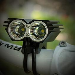Nestling X2 CREE XM-L U2 LED Rechargeable Waterproof 5000Lm