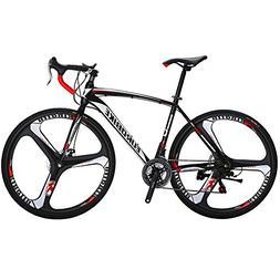 EUROBIKE Road Bike EURXC550 21 Speed 49 cm Frame 700C 3-Spok
