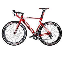 EUROBIKE EURXC7000 Road Bike 54CM Light Aluminum Frame 16 Sp