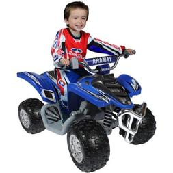 Yamaha Raptor ATV 12-Volt Battery-Powered Ride-On, Blue Colo