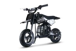 Youth Kids Dirt Bike Black Gas Powered Motor 51 CC 2 Stroke